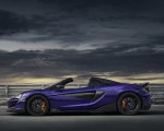 2020 McLaren 600LT Spider (Color: Lantana Purple) Side Wallpaper 150x120 (22)