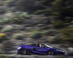 2020 McLaren 600LT Spider (Color: Lantana Purple) Side Wallpaper 150x120 (16)