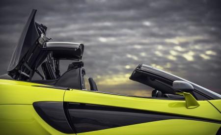 2020 McLaren 600LT Spider (Color: Lime Green) Detail Wallpaper 450x275 (66)