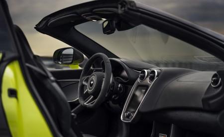 2020 McLaren 600LT Spider (Color: Lime Green) Interior Cockpit Wallpaper 450x275 (78)