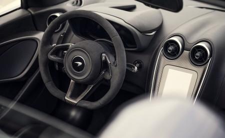 2020 McLaren 600LT Spider (Color: Lime Green) Interior Steering Wheel Wallpaper 450x275 (80)