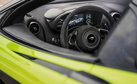 2020 McLaren 600LT Spider (Color: Lime Green) Interior Wallpaper 450x275 (75)