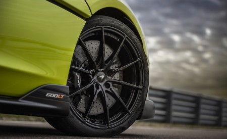 2020 McLaren 600LT Spider (Color: Lime Green) Wheel Wallpaper 450x275 (74)