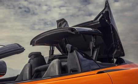 2020 McLaren 600LT Spider (Color: Myan Orange) Detail Wallpaper 450x275 (52)
