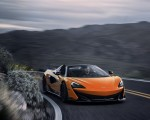 2020 McLaren 600LT Spider (Color: Myan Orange) Front Three-Quarter Wallpaper 150x120 (38)