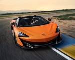 2020 McLaren 600LT Spider (Color: Myan Orange) Front Three-Quarter Wallpaper 150x120 (29)