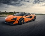 2020 McLaren 600LT Spider (Color: Myan Orange) Front Three-Quarter Wallpaper 150x120 (30)