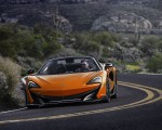 2020 McLaren 600LT Spider (Color: Myan Orange) Front Wallpaper 150x120 (42)