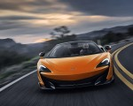 2020 McLaren 600LT Spider (Color: Myan Orange) Front Wallpaper 150x120 (41)