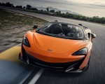 2020 McLaren 600LT Spider (Color: Myan Orange) Front Wallpaper 150x120 (31)