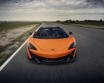 2020 McLaren 600LT Spider (Color: Myan Orange) Front Wallpaper 150x120 (33)