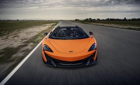 2020 McLaren 600LT Spider (Color: Myan Orange) Front Wallpaper 450x275 (33)