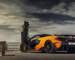 2020 McLaren 600LT Spider (Color: Myan Orange) Rear Three-Quarter Wallpaper 150x120 (43)