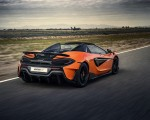 2020 McLaren 600LT Spider (Color: Myan Orange) Rear Three-Quarter Wallpaper 150x120 (35)