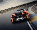 2020 McLaren 600LT Spider (Color: Myan Orange) Rear Wallpaper 150x120 (36)