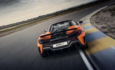 2020 McLaren 600LT Spider (Color: Myan Orange) Rear Wallpaper 450x275 (36)