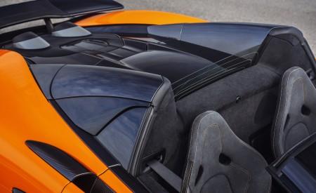 2020 McLaren 600LT Spider (Color: Myan Orange) Spoiler Wallpaper 450x275 (50)