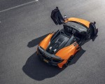 2020 McLaren 600LT Spider (Color: Myan Orange) Top Wallpaper 150x120 (47)