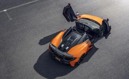 2020 McLaren 600LT Spider (Color: Myan Orange) Top Wallpaper 450x275 (47)