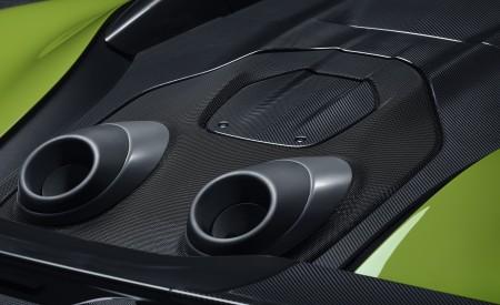 2020 McLaren 600LT Spider Exhaust Wallpaper 450x275 (96)