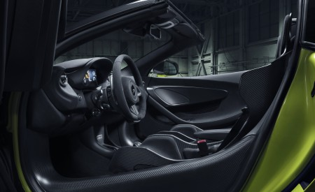 2020 McLaren 600LT Spider Interior Wallpaper 450x275 (99)