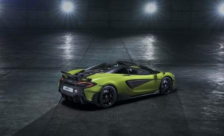 2020 McLaren 600LT Spider Rear Three-Quarter Wallpaper 450x275 (85)