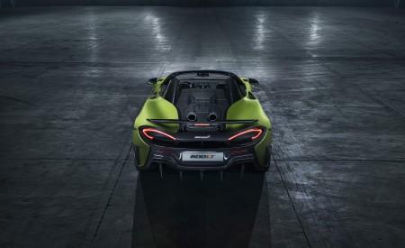 2020 McLaren 600LT Spider Rear Wallpaper 450x275 (90)