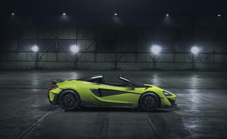 2020 McLaren 600LT Spider Side Wallpaper 450x275 (86)