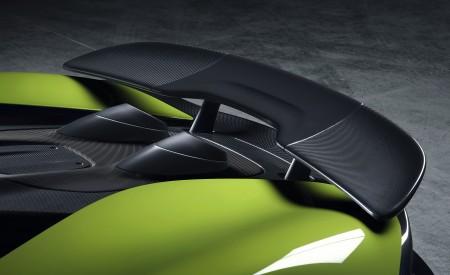 2020 McLaren 600LT Spider Spoiler Wallpaper 450x275 (95)