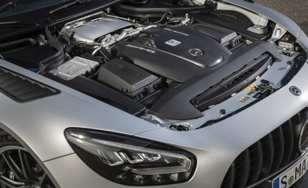 2020 Mercedes-AMG GT R Pro (Color: Designo Iridium Silver magno) Engine Wallpaper 450x275 (9)