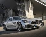 2020 Mercedes-AMG GT R Pro (Color: Designo Iridium Silver magno) Front Three-Quarter Wallpapers 150x120 (6)