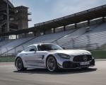 2020 Mercedes-AMG GT R Pro (Color: Designo Iridium Silver magno) Front Three-Quarter Wallpapers 150x120 (3)