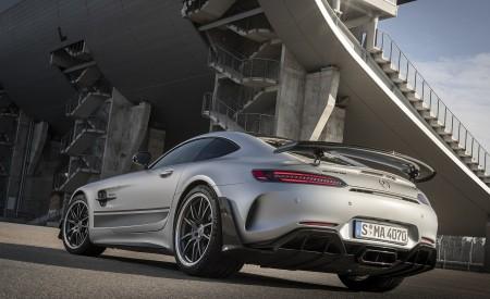 2020 Mercedes-AMG GT R Pro (Color: Designo Iridium Silver magno) Rear Three-Quarter Wallpaper 450x275 (7)