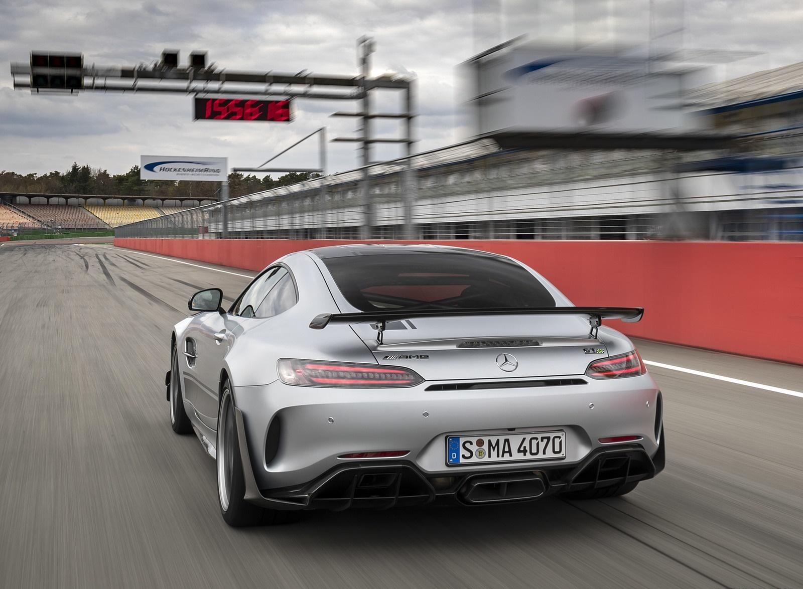 2020 Mercedes-AMG GT R Pro (Color: Designo Iridium Silver magno) Rear Wallpapers (5)