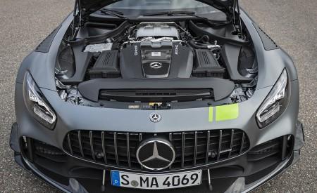 2020 Mercedes-AMG GT R Pro (Color: Designo Selenite Gray Magno) Engine Wallpaper 450x275 (21)