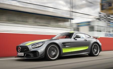 2020 Mercedes-AMG GT R Pro (Color: Designo Selenite Gray Magno) Front Three-Quarter Wallpaper 450x275 (17)
