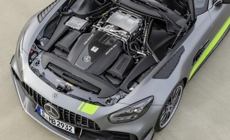 2020 Mercedes-AMG GT R Pro (Color: Selenite Grey Magno) Engine Wallpaper 450x275 (42)