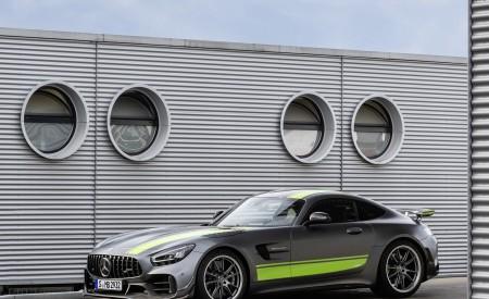 2020 Mercedes-AMG GT R Pro (Color: Selenite Grey Magno) Front Three-Quarter Wallpaper 450x275 (23)