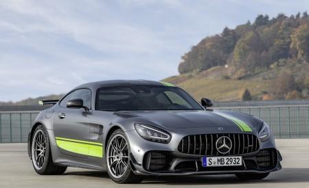 2020 Mercedes-AMG GT R Pro (Color: Selenite Grey Magno) Front Three-Quarter Wallpaper 450x275 (24)