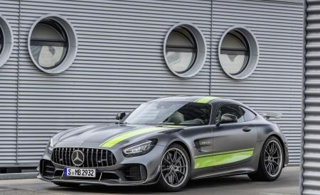 2020 Mercedes-AMG GT R Pro (Color: Selenite Grey Magno) Front Three-Quarter Wallpaper 450x275 (25)