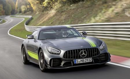 2020 Mercedes-AMG GT R Pro (Color: Selenite Grey Magno) Front Wallpaper 450x275 (30)