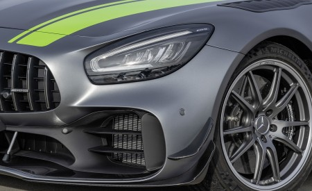2020 Mercedes-AMG GT R Pro (Color: Selenite Grey Magno) Headlight Wallpaper 450x275 (41)