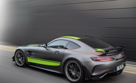 2020 Mercedes-AMG GT R Pro (Color: Selenite Grey Magno) Rear Three-Quarter Wallpaper 450x275 (35)