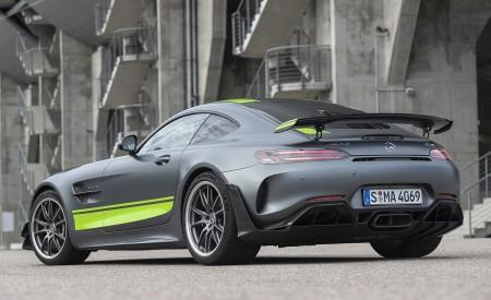 2020 Mercedes-AMG GT R Pro (Color:Designo Selenite Gray Magno) Rear Three-Quarter Wallpaper 450x275 (20)