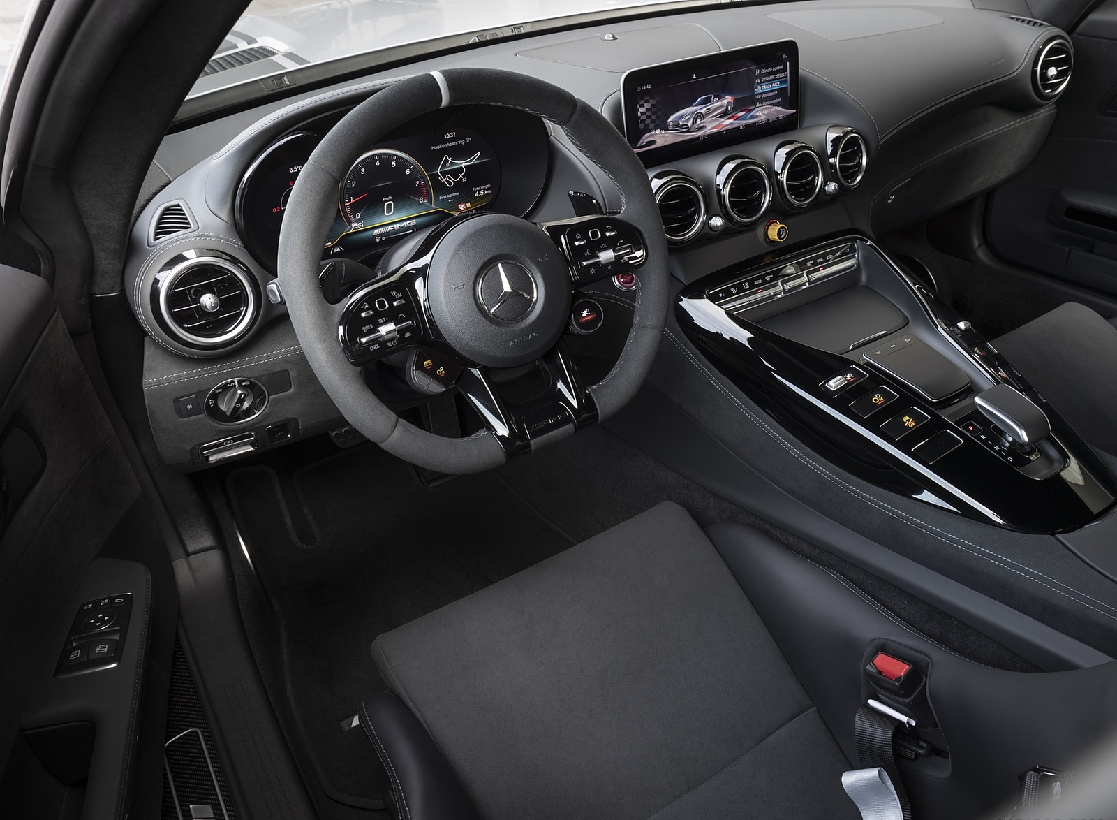 2020 Mercedes-AMG GT R Pro Interior Wallpaper (14)