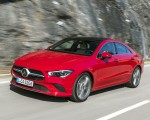 2020 Mercedes-Benz CLA 200 Coupe (Color: Jupiter Red) Front Three-Quarter Wallpapers 150x120 (16)