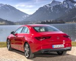 2020 Mercedes-Benz CLA 200 Coupe (Color: Jupiter Red) Rear Three-Quarter Wallpapers 150x120 (29)