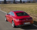 2020 Mercedes-Benz CLA 200 Coupe (Color: Jupiter Red) Rear Three-Quarter Wallpapers 150x120 (18)