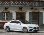 2020 Mercedes-Benz CLA 220 d Coupe AMG Line (Color: Digital White Metallic) Front Three-Quarter Wallpapers 150x120 (46)