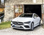 2020 Mercedes-Benz CLA 220 d Coupe AMG Line (Color: Digital White Metallic) Front Three-Quarter Wallpapers 150x120 (44)